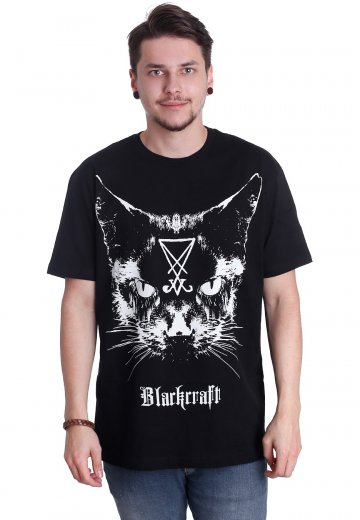 Black Craft Cult - Lucifer The Cat - T-Shirt