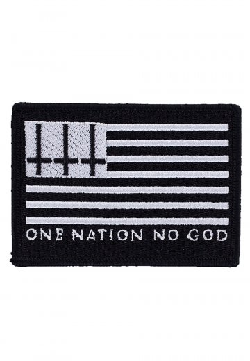 0478976b Black Craft Cult - One Nation No God Embroidered Black - Patch - Streetwear  Shop - Impericon.com UK