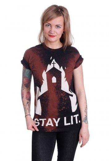 Black Craft Cult - Stay Lit Bleach Wash - T-Shirt