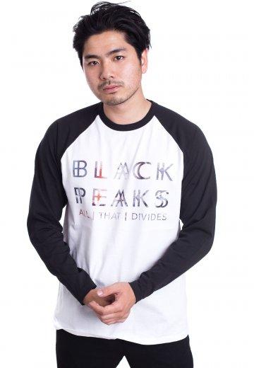 Black Peaks - All That Divides White/Black - Longsleeve