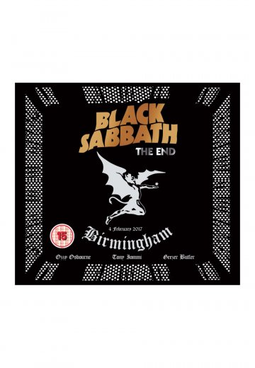 Black Sabbath - The End (Live In Birmingham) - Digipak Blu Ray + CD