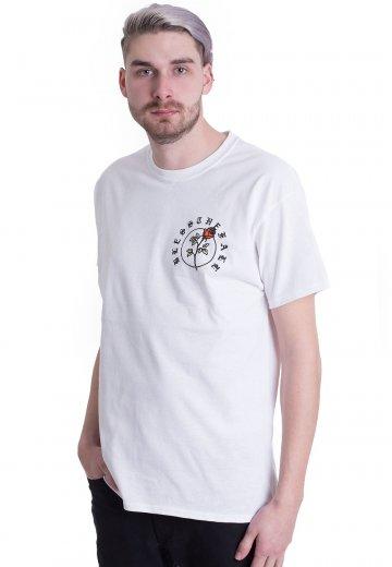 Blessthefall - Crest White - T-Shirt