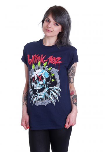 Blink 182 - Ripper Navy - T-Shirt