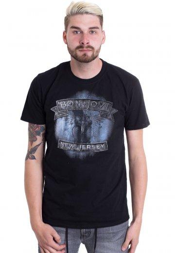 Bon Jovi New Jersey T-Shirt Black