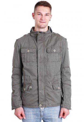 f5ffb4aea51ad Brandit - Britannia Oliv - Jacket - Streetwear Shop - Impericon.com UK