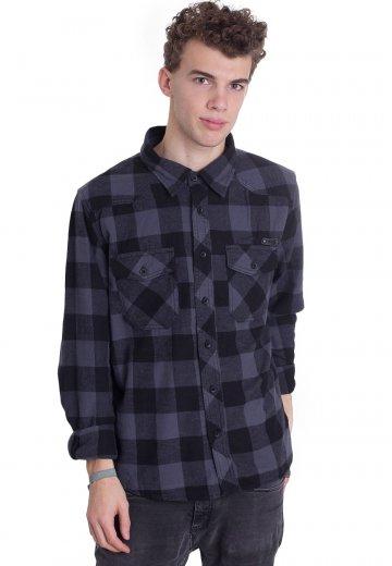 2bcb6bb6feae Brandit - Check Black Grey - Shirt - Streetwear Shop - Impericon.com UK