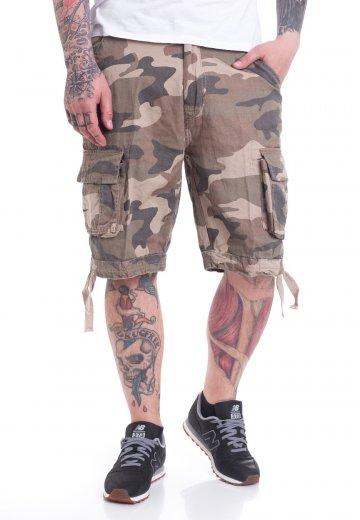 Brandit - Urban Legend Light Woodland - Shorts