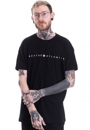 Breathe Atlantis - Flower Logo - T-Shirt