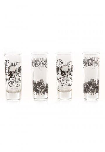 Bullet For My Valentine - Bullet Set Of 4 - Glass