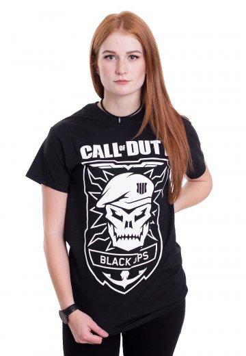 Call Of Duty - Black Ops Skull - T-Shirt