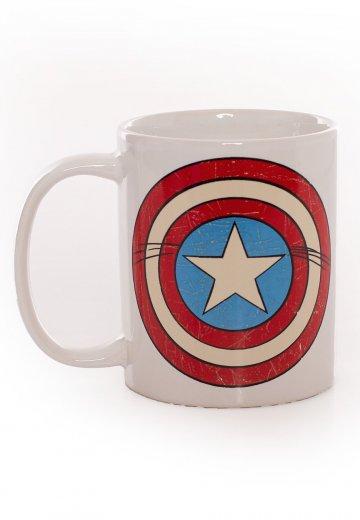Captain America - Logo Shield - Mug