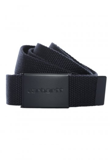 Carhartt WIP - Clip Tonal Canvas Navy - Belt