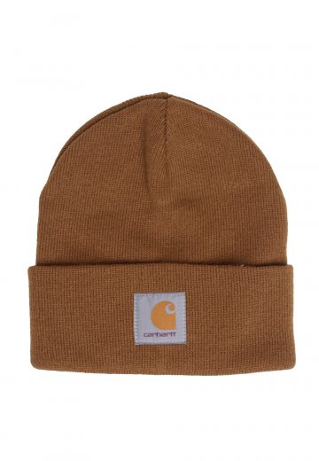 6347a54bee252 Carhartt WIP - Short Watch Hamilton Brown - Beanie - Streetwear Shop -  Impericon.com US