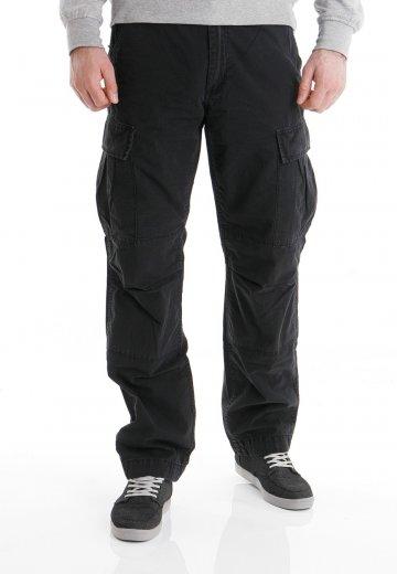 Carhartt WIP - Slim Cargo Columbia Black Stone Washed - Pants - Streetwear Shop - Impericon.com ...