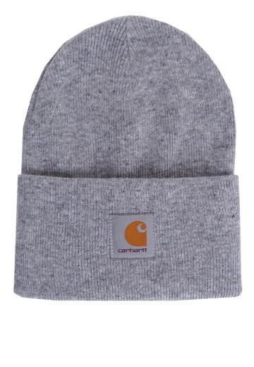 71586e99f75 Carhartt WIP - Acrylic Watch Grey Heather - Beanie - Streetwear Shop -  Impericon.com UK