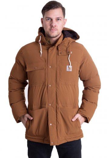 19d045434963e Carhartt WIP - Alpine Coat Hamilton Brown/Black - Kurtka - Sklep ...