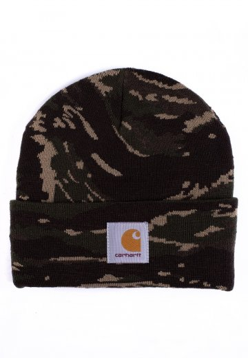 709daecf34c Carhartt WIP - Camo Tiger Jungle - Beanie - Streetwear Shop ...