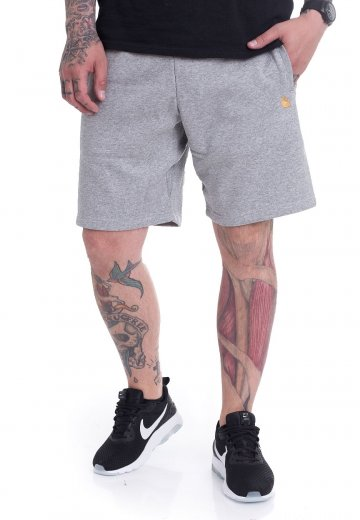 Carhartt WIP - Chase Grey Heather/Gold - Shorts