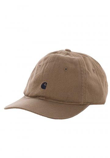c1cae4546b85b Carhartt WIP - Madison Logo Leather Navy - Cap - Streetwear Shop ...