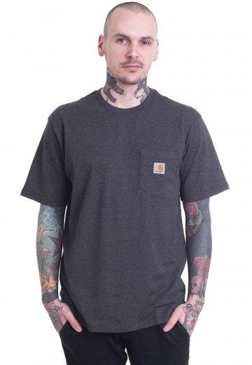 Carhartt WIP - Pocket Black Heather - T-Shirt