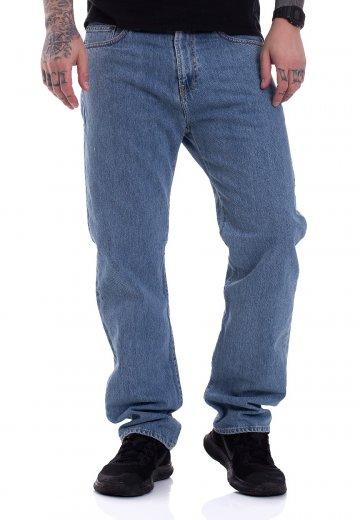 Carhartt WIP - Pontiac Milton Blue Stone Bleached - Jeans