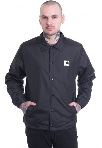 vente discount plus récent mode de luxe Carhartt WIP - Sports Coach Black/Wax - Jacket