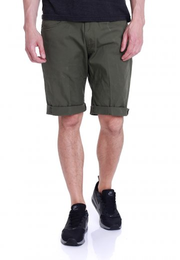 5502ad4ea2 Carhartt WIP - Swell Witchita Rover Green - Shorts - Streetwear Shop -  Impericon.com UK