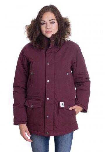 Carhartt WIP - W' Trapper Parka Chianti/Black - Jacket