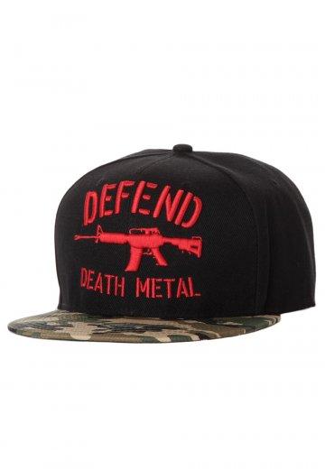 Carnifex - Defend Black/Camo - Cap