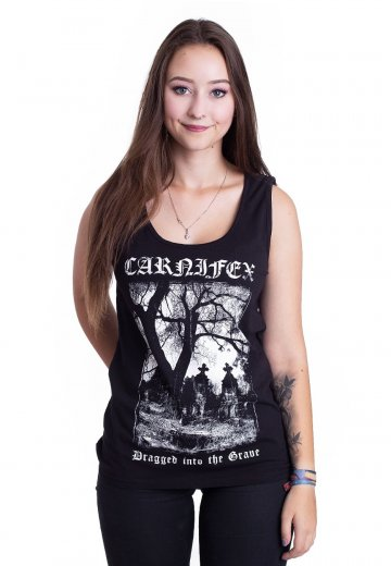 Carnifex - Dragged Into The Grave - Girl Tank