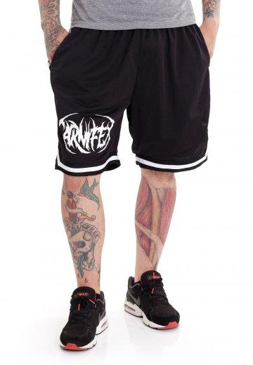 Carnifex - Logo Striped - Shorts