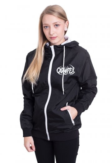 Carnifex - Pentagram Black/White - Windbreaker