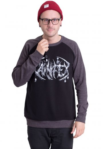 Carnifex - Skelelogo Black/Charcoal - Sweater