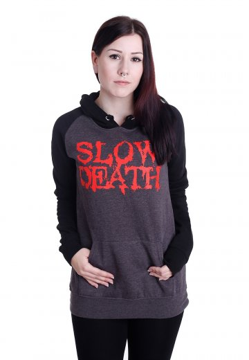 Carnifex - Slow Death Charcoal/Black - Hoodie