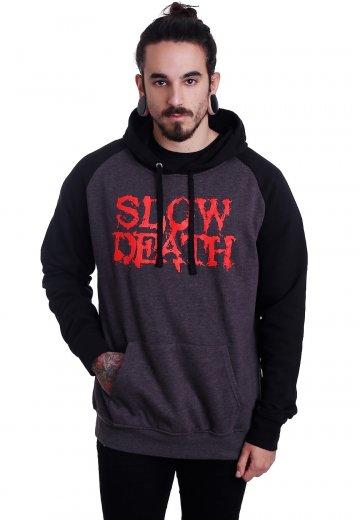 Carnifex - Slow Death Charcoal/Black - Hoodie