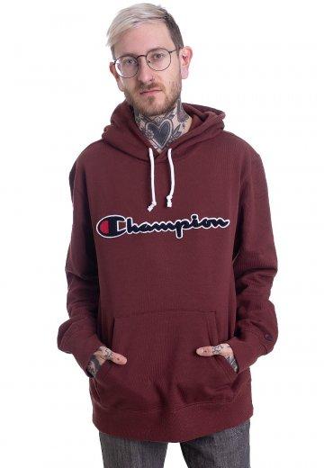 champion logo hoodie
