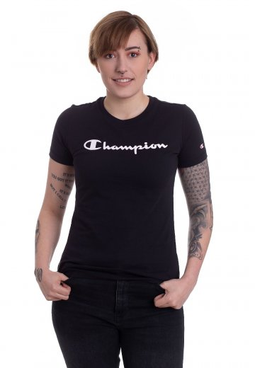 173dae079168 Champion - Crewneck New Black - Girly - Streetwear Shop - Impericon.com UK