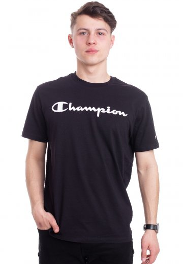 69fccc64051f Champion - Crewneck New Black - T-Shirt - Streetwear Shop ...