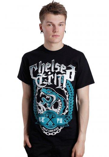 chelsea grin snake t shirt official deathcore merchandise worldwide. Black Bedroom Furniture Sets. Home Design Ideas