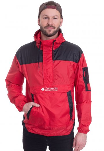 610ae68f519c Columbia - Challenger Mountain Red Black - Jacket - Streetwear Shop -  Impericon.com Worldwide