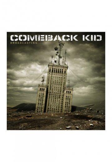 Comeback Kid - Broadcasting... - CD