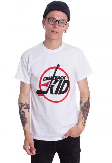 Comeback Kid - Circle White - T-Shirt