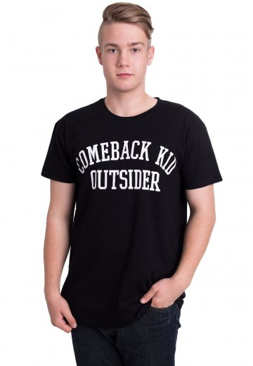 Comeback Kid - College Logo - T-Shirt