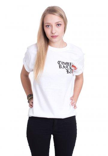 Comeback Kid - Devils White - T-Shirt