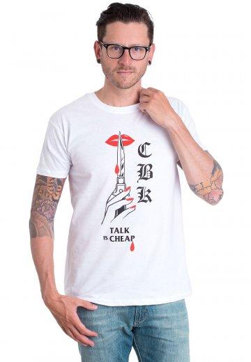 Comeback Kid - Red Lips White - T-Shirt
