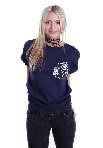 Comeback Kid - Rose Navy - T-Shirt