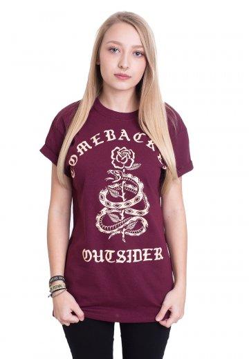 Comeback Kid - Tread Snake Maroon - T-Shirt