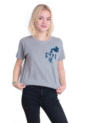 Comeback Kid - Up In Smoke Sportsgrey - T-Shirt