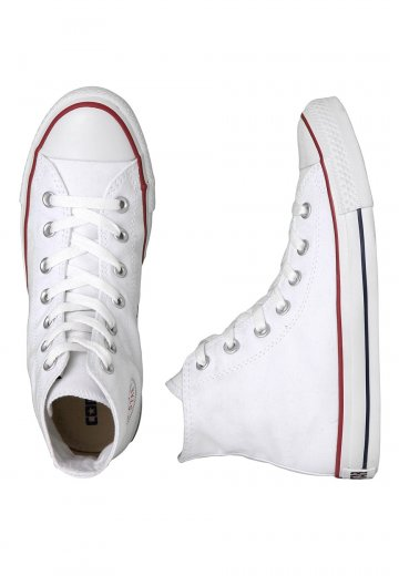 Converse - Chuck Taylor All Star Hi Optical White - Girl Shoes