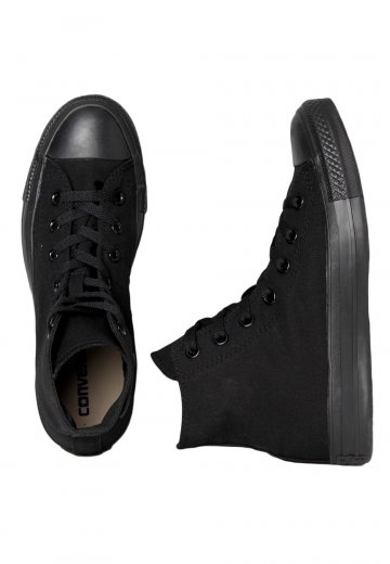 876d98e52ece Converse - Chuck Taylor All Star Hi Black Monochrome - Girl Shoes -  Impericon.com UK